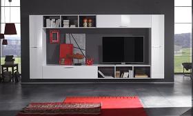Pareti attrezzate per il tuo soggiorno - Bramante online